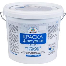 Краска для фасадов фактурная Латек Л305 7 кг