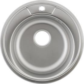 Мойка врезная Maidsink Kiba 49 см, нержавеющая сталь, цвет серебристый