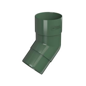 Колено круглое 135° цвет зелёный