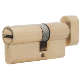 Цилиндр ключ/вертушка 30х40 золото, C BK PB