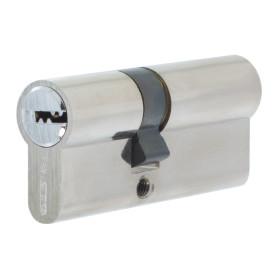 Цилиндр Palladium 70, 30x40 мм, ключ/ключ, цвет хром