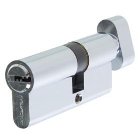 Цилиндр ключ/вертушка 30х40 хром, C BK CP