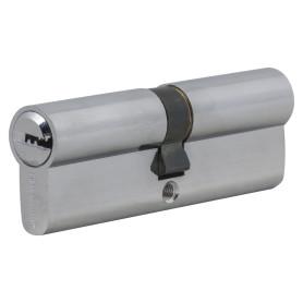 Цилиндр Palladium 90, 45x45 мм, ключ/ключ, цвет хром