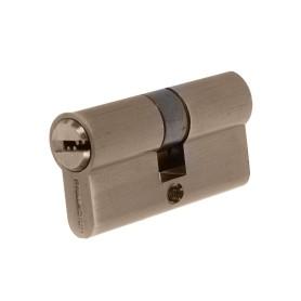 Цилиндр Palladium 60, 30x30 мм, ключ/ключ, цвет бронза