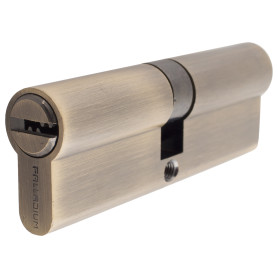 Цилиндр ключ/ключ 45х45 бронза, 90 C ET AB