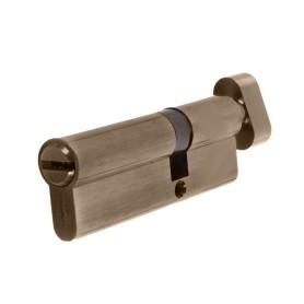 Цилиндр ключ/вертушка 35х55 бронза, 90 C BK AB