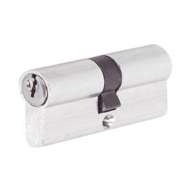 Цилиндр ключ/ключ 35х35 хром, E AL 70 CP