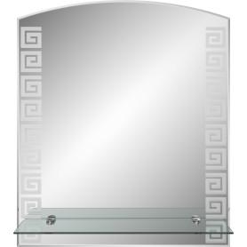 Зеркало «Гермес» с полкой 39 см