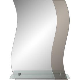 Зеркало «Ниагара» с полкой 52 см