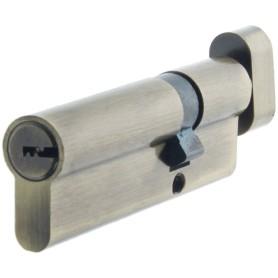 Цилиндр Standers ключ/вертушка 30х60 бронза, TT-CANB3060AB