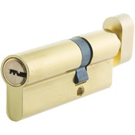 Цилиндр Standers ключ/вертушка 30х50 золото, TT-CANB3050GD