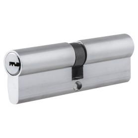 Цилиндр Standers ключ/ключ 50х50 хром, TT-CB829