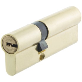 Цилиндр Standers ключ/ключ 35х55 золото, TT-CAB3555GD