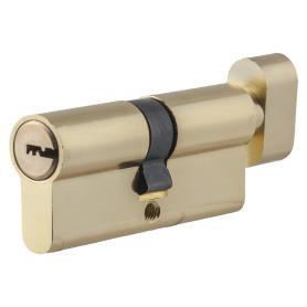 Цилиндр Standers ключ/вертушка 35х35 золото, TT-CAB819