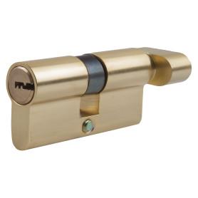 Цилиндр Standers ключ/вертушка 30х30 золото, TT-CAB816