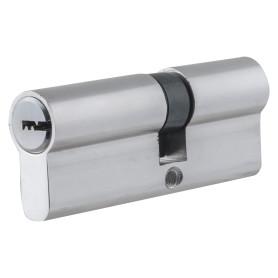 Цилиндр Standers ключ/ключ 35х45 хром, TT-CAB3545CR