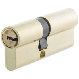 Цилиндр Standers ключ/ключ 35х45 золото, TT-CAB3545GD