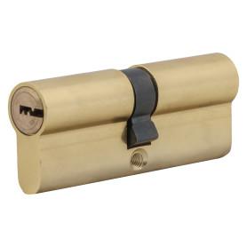 Цилиндр Standers ключ/ключ 40х40 золото, TT-CAB810