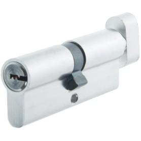 Цилиндр Standers ключ/вертушка 40х40 хром, TT-CABNB4040CR