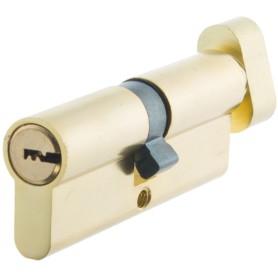 Цилиндр Standers ключ/вертушка 40х40 золото, TT-CANB4040GD