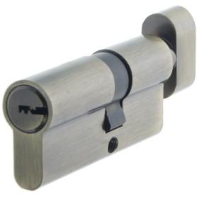 Цилиндр Standers ключ/вертушка 30х40 бронза,TT-CANB3040AB