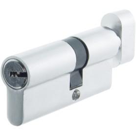 Цилиндр Standers ключ/вертушка 30х40 хром,TT-CANB3040CR