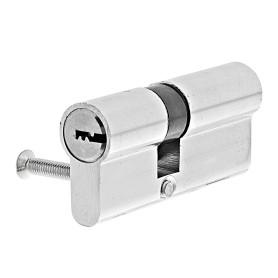 Цилиндр Standers ключ/ключ 30х40 хром, TT-CAB808