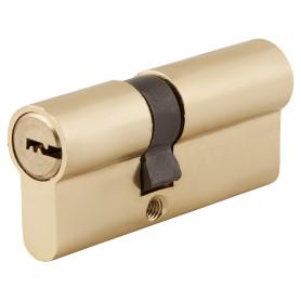 Цилиндр Standers ключ/ключ 30х40 золото, TT-CAB807