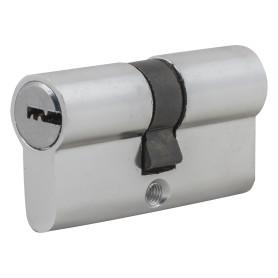 Цилиндр Standers ключ/ключ 30х30 хром, TT-CAB802