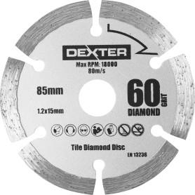 Диск алмазный по керамике Dexter Power