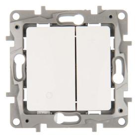 Диммер встраиваемый Legrand Etika 400 Вт (75 Вт LED) цвет белый