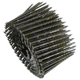 Гвозди строительные винтовые в обойме 2.8х80 мм, 200шт.