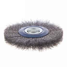 Щетка дисковая для точила Dexter, 125 мм, металлическая