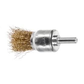 Щетка-помазок для дрели Dexter 25 мм латунная