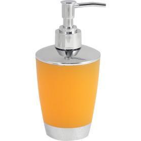 Дозатор для жидкого мыла настольный «Альма» пластик цвет оранжевый