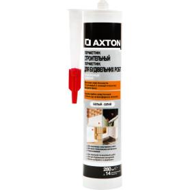 Герметик высокопрочный для наружных работ белый Axton, 280 мл