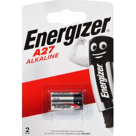 Батарейка алкалиновая Energizer FSB2, A27, 2 шт.