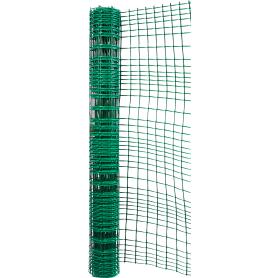Решетка садовая 1x5 м, размер ячейки 45х45 мм, цвет хаки-зеленый