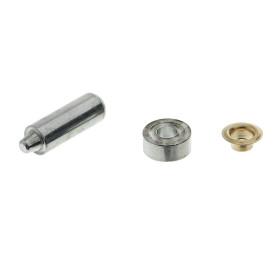 Люверсы с инструментом для установки Standers 8 мм, золото, 25 шт.