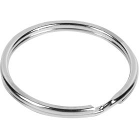Кольцо для ключей Standers 26 мм, никель, 3 шт.