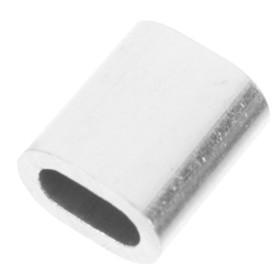 Наконечник троса Standers 4 мм, алюминий, 4 шт.