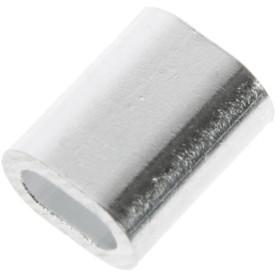 Наконечник троса Standers 2 мм, алюминий, 8 шт.