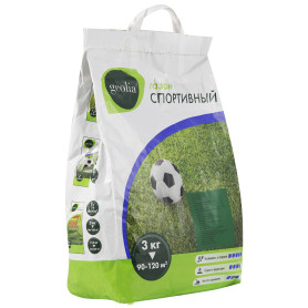 Семена газона Geolia Спортивный 3 кг