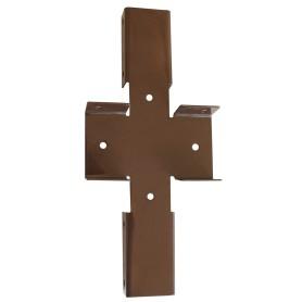 Х-кронштейн Grand Line, Ral, цвет коричневый