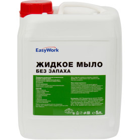 Жидкое мыло Easywork без запаха 5 л