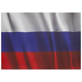 Наклейка «Флаг РФ» Декоретто L