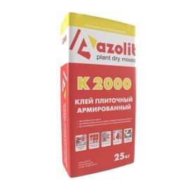 Клей для плитки армированный К-2000, 25 кг