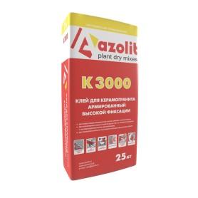 Клей для керамогранита армированный К-3000, 25 кг