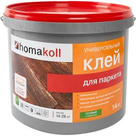 Клей водно-дисперсионный для паркета Хомакол (Homakoll) 14 кг