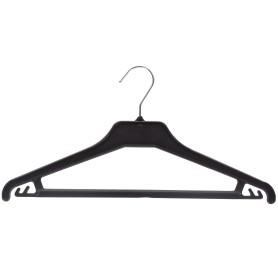 Плечики для легкой одежды 42 см, цвет чёрный
